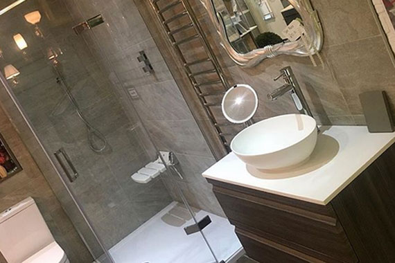 bathrooms Unlimited work with award winning designer bathroom products